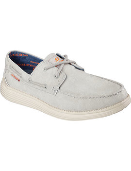 Relaxed Fit Status Melec Boat Shoe by Skechers