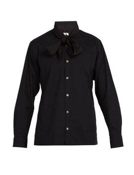 Big Scarf Box Cotton Shirt by Sasquatchfabrix