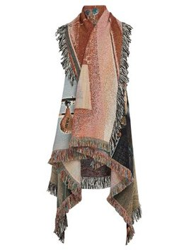 X Bjarne Melgaard Wool Blend Cardigan by Bless