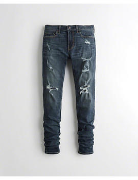 Stacked Superskinny Jeans Met Geavanceerde Stretch by Hollister
