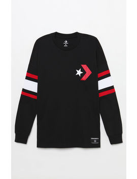 Converse Star Chevron Football Jersey by Pacsun