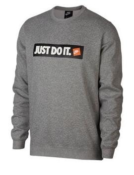 Sportswear Fleece Crew Logo Sweater by Nike