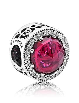 Disney Belle's Radiant Rose Charm by Pandora