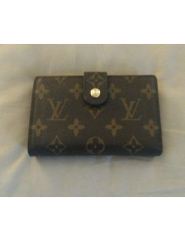 Louis Vuitton Genuine Brown Monogram Canvas Wallet 5x3 by Louis Vuitton