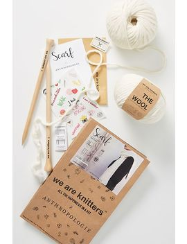 Scarf Knitting Kit by We Are Knitters X Anthropologie