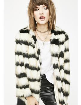 Untamable Babe Fuzzy Jacket by Carmin