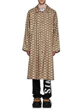 Monogram Oversized Raincoat by Vetements