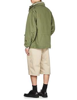 M 65 Cotton Hooded Field Jacket by 424x Alph Ax Slamjam