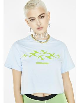 Whatever Cropped Tee by Valley High