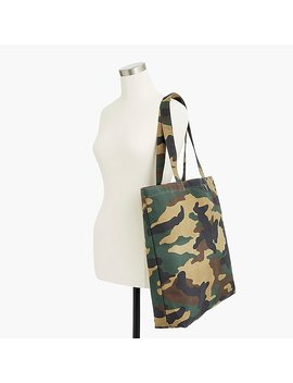 Large Reusable Everyday Tote In Camo by J.Crew