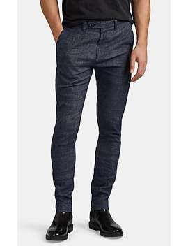 Stretch Linen Cotton Trousers by John Varvatos