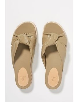 Bill Blass Padget Leather Sandal Slides by Bill Blass