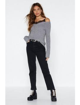 Insert Yourself Knit Sweater by Nasty Gal