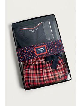 Tommy Hilfiger Checked Pyjama Set by Tommy Hilfiger