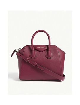 Antigona Mini Leather Shoulder Bag by Givenchy