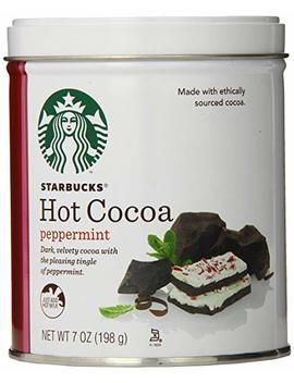 Starbucks Hot Cocoa, Peppermint, 7 Ounce by Starbucks