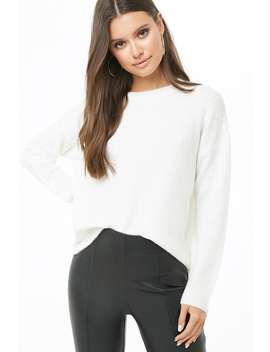 Brushed Knit Sweater by Forever 21