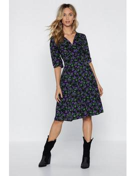 You've Really Blossomed Midi Dress by Nasty Gal