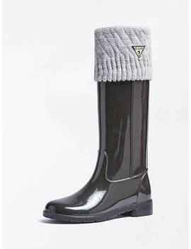 Ribe Rubber Rain Boot by Guess