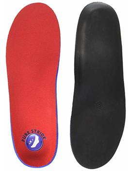 Full Length Pure Stride Orthotics Men 7 7 1/2, Women 9 9 1/2 by Pure Stride