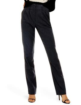 Pinstripe Trousers by Topshop