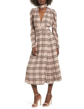 Quinn Wrap Midi Dress by Afrm