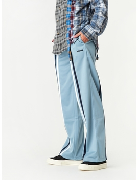 Rory Striped Track Pant   Light Blue by Stussy