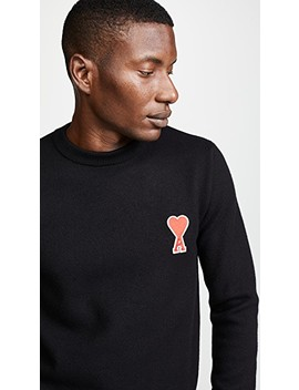 Crew Neck Pullover by Ami