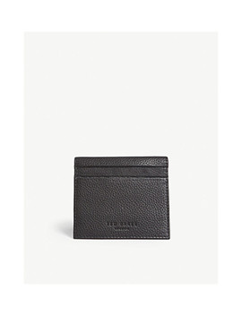 Roasty Leather Card Holder by Ted Baker