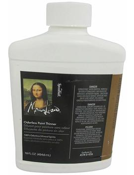 Speedball Art Products 16 Ounce Mona Lisa Odorless Paint Thinner by Amazon