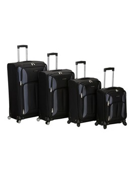 Rockland Impact 4pc Spinner Luggage Set by Rockland