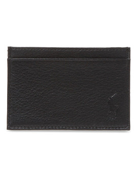 Pony Embossed Leather Card Case by Polo Ralph Lauren