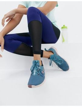 Nike Training Free Tr 8 Trainers In Blue And Pink by Nike