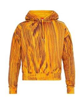 Striped Cotton Hooded Sweatshirt by Eckhaus Latta