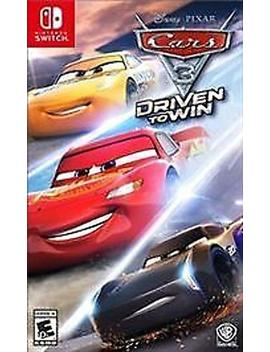 Cars 3: Driven To Win (Nintendo Switch) by By          Nintendo