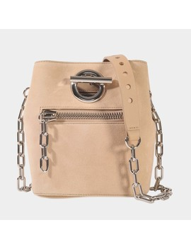 Riot Crossbody Bag In Cashmere Goatskin Leather by Alexander Wang