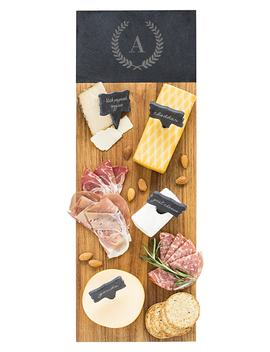 Monogram Acacia Wood Cheese Board by Cathy's Concepts