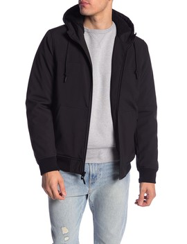Faux Shearling Hooded Bomber by Levi's