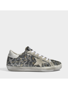 Leopard Superstar Sneakers In Leopard Print Polyester, Cotton And Calfskin by Golden Goose Deluxe Brand