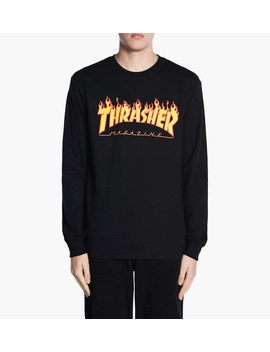 Flame Long Sleeve Tee by Thrasher