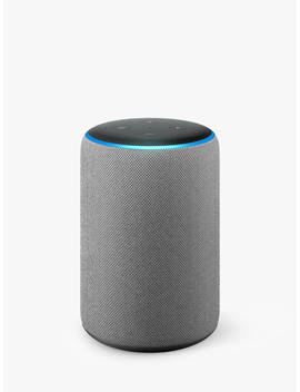 Amazon Echo Plus Smart Speaker With Built In Smart Home Hub With Alexa Voice Recognition & Control, 2nd Generation, Grey by Amazon