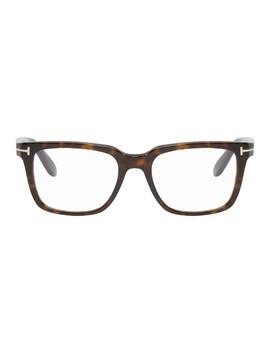 Tortoiseshell Tf 5304 Glasses by Tom Ford