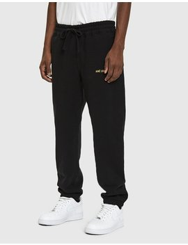 Logo French Terry Sweatpant In Black by Aimé Leon Dore