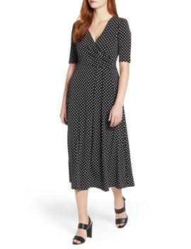 Garden Dot Midi Dress by Chaus
