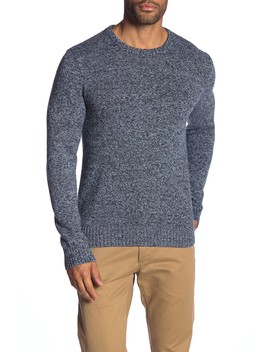 Crew Neck Marled Knit Sweater by Original Penguin