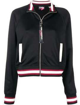 Karl X Kaia Zip Up Sweatshirt by Karl Lagerfeld
