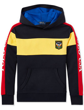 Big Boys Downhill Skier Colorblocked Tech Hoodie by Polo Ralph Lauren