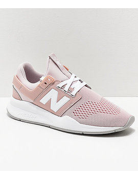 New Balance Lifestyle 247 Classic Conch Shell & White Shoes by New Balance