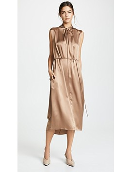 Neck Knot Dress by Vince
