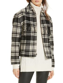Wool Blend Plaid Jacket by Polo Ralph Lauren
